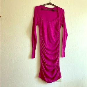Body flattering Pink dress